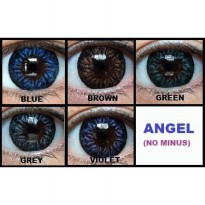 Softlens Angel Eyes / Soft Lens Angel Eyes Depkes Made in Australia