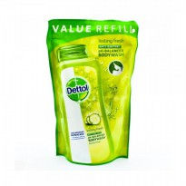 Dettol Body Wash Pouch Lasting Fresh 450ml