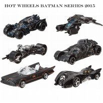 Die Cast Hot Wheels Batman Series 2015
