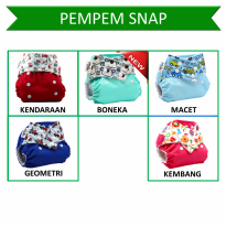 [Pempem!] Clodi Snap + Insert Litty (Cloth Diaper/Popok Kain Cuci Ulang)