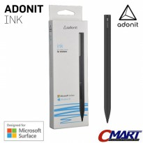 Adonit INK Fine Point Stylus for Windows Powered Tablet BLACK ADN-ADIB