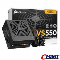 Corsair VS Series VS550 PSU ATX Power Supply True Gaming 550W 550 watt