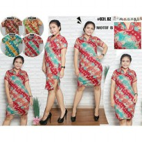 DRESS CHEONGSAM BATIK B XL