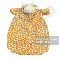 Angel Dear Teether Blankie - Giraffe