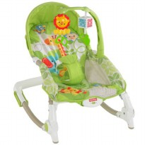 FP138 Fisher Price Newborn to Toddler Portable Rocker FREE 1pcs INTEX Pelampung Tangan