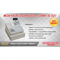 Mesin Kasir (CASH REGISTER) XE-A217