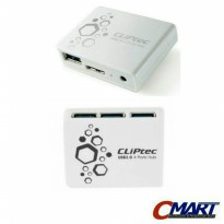 CLIPTEC RZR502 USB 2.0 Card Reader All in 1 Multi Card Reader