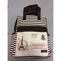 Tas Ransel Backpack Canvas - 3
