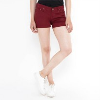 Mobile Power Ladies Basic Short Pants - Terracota B7705C