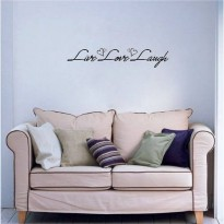 [globalbuy] : Live Laugh Love Quote Wall Decals Vinyl Stickers Home Decor Art Sticker Livi/3843572