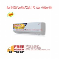 Akari 0910GLW Low Watt AC Split 1 PK - Indoor Outdoor-KHUSUS JABODETABEK