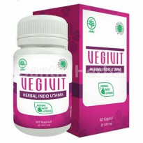 HIU Vegivit - Herbal Pelancar Haid