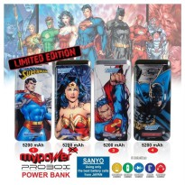 PROBOX Power Bank 5200 mAh Superman - LIMITED EDITION - SANYO CELL