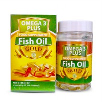 Fish Oil / Minyak Ikan Gold Omega 3 Plus - 70 softgel