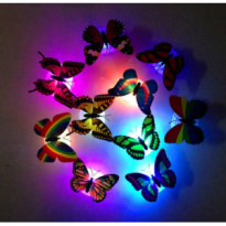 Lampu kupu2 kupu-kupu butterfly night led light tidur malam