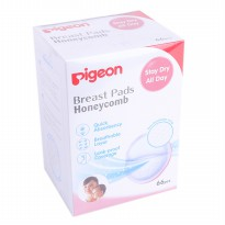 PIGEON DISPOSABLE .BREAST PADS HONEYCOMB/ PENYERAP ASI MENYUSUI ISI 66