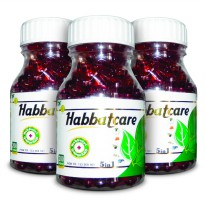 Habbat Care 5 in 1 ( Propolis + Garlic oil + Salmon Fish oil ) isi 200