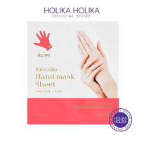 (BUY 2 GET 1 FREE) Holika Holika Baby Silky Hand Mask Sheet