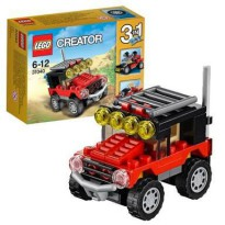 LEGO Creator 3 in 1 - 31040 Desert Racers Jeep Buggy Off