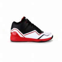 SEPATU PIERO BASKET (100% ORIGINAL) SPECIALE - BLACK/WHITE/RED