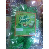Alfredo Cubic Wafer Green Tea Filled with Hazelnut Cream Coklat Susu dengan Kacang Hazel Rasa Teh Hijau isi 30pcs