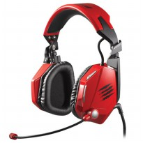 Mad Catz F.R.E.Q.5 Stereo Gaming Headset for PC and Mac - Red
