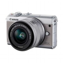 CANON EOS M100 Grey with EF-M15-45mm