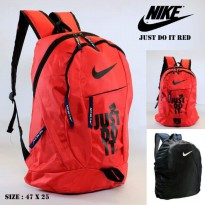 Tas Ransel NIKE Just Do It Red Black