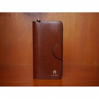 Promo Dompet Wanita Import Branded Aigner Dcw8108A Brown  IDG4072