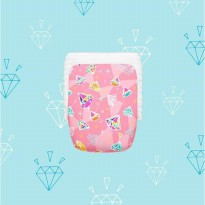 HAPPY DIAPERS PREMIUM BABY PANTS POPOK CELANA BAYI - Diamonds Forever