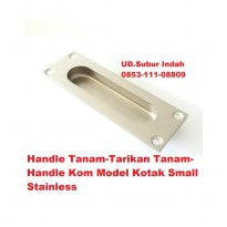 Handle Tanam-Tarikan Tanam-Handle Kom Model Kotak Small Stainless