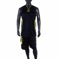 Proteam Jersey 3Line BBall Black-Yellow