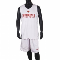 Proteam Jersey Indonesian BBall Red-White Bola-Balik