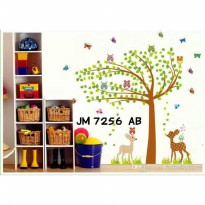 Wallsticker Uk.2x60x90 Wallstiker Pohon 2 Rusa