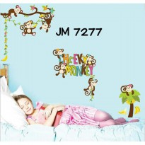 Wallsticker Uk.60x90 Wallstiker Heeky Monkey