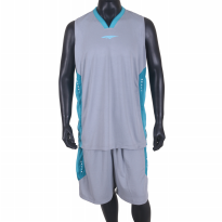 Proteam Jersey 3Line BBall Grey-Tosca