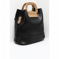 [ BERRYBENKA ] Cienna Shoulder Bags - Black
