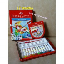 READY STOCK JEMPOL ATK0066 FABER isi12warna Cat Air Watercolour 121004N faber castell