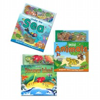 [Xivan] Under the Sea/Wild Animals/Dinosaur Island A Magnetic Play Book