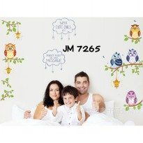 Wallsticker Uk.60x90 Wallstiker Super Cute Owl