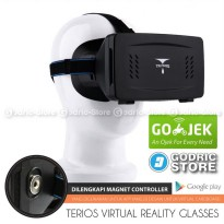 Terios Google Cardboard Ver.2 VR (Virtual Reality) 3D Glass w/ Magnet