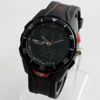TIMEX IRON MAN BLACK RED