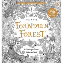 Forbidden Forest Coloring Book