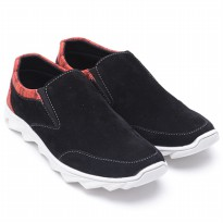 Dr.Kevin Men Shoes Cassual Suede 13253 Black