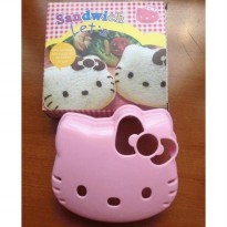 KITTY Sandwich Mold bread mold sandwich maker DIY mold ( Cetakan Sandwich )