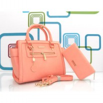 DJ Fashion The Woman Elegant Bag - One Set - Pink