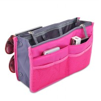 Korean Dual Bag Zipper Bag In Bag Organizer / Tas Organizer - BGO-03
