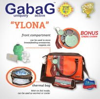 GABAG COOLER BAG YLONA - FREE 2 ICE GEL GABAG - BEST BUY