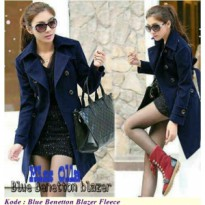 Blue Navy Benetton Blazer