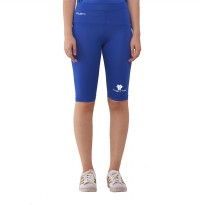 Tiento Base Layer Legging Rashguard Compression Tight Half Pants Blue White Original